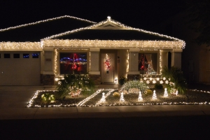 House at Christmas